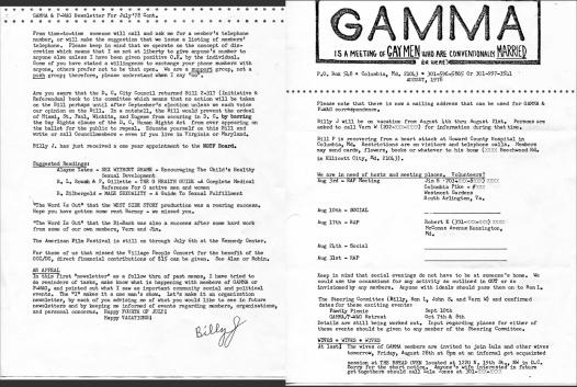 Gamma Newsletter